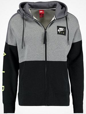 Nike Sportswear AIR FULL ZIP HOODIE Sweatshirt carbon heather/dark grey/black/white