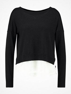 Only ONLROSANA SHEN MIX Stickad tröja black/cloud dancer