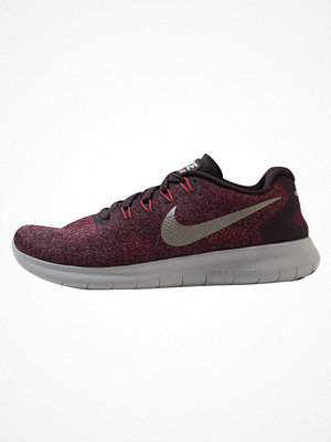 Sport & träningsskor - Nike Performance FREE RUN 2 Löparskor bordeaux/metallic pewter/port wine/solar red/atmosphere grey