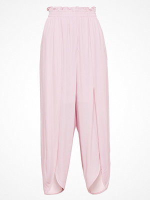 Designers Remix CATE PANTS Tygbyxor light pink omönstrade