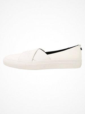 Calvin Klein RAYLIE Slipins platinum white