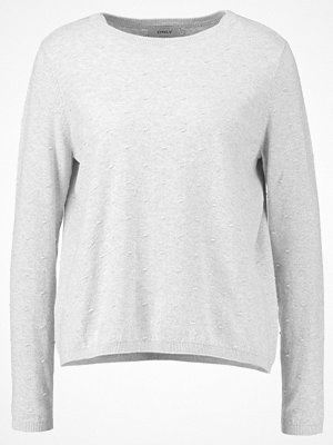 Only ONLALBERTE LUX  Stickad tröja light grey