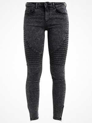 Only ONLRAIN BIKER  Jeans Skinny Fit black