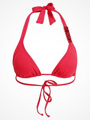 MOSCHINO SWIM TRIANGLE BRA Bikiniöverdel red
