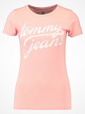Tommy Jeans BASIC Tshirt med tryck blush