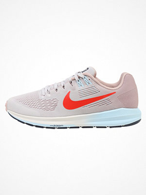 Sport & träningsskor - Nike Performance AIR ZOOM STRUCTURE 21 Löparskor stabilitet vast grey/habanero red/elemental rose/cobalt tint/thunder