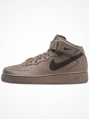 Nike Sportswear AIR FORCE 1 MID '07 Höga sneakers ridgerock/black