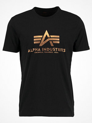 Alpha Industries Tshirt med tryck black copper