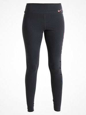 Nike Performance Tights anthracite/hot punch