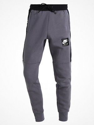 Nike Sportswear AIR JOGGER Träningsbyxor dark grey/black/white