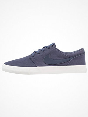 Nike Sb PORTMORE II SS CNVS Sneakers thunder blue/noise aqua/summit white
