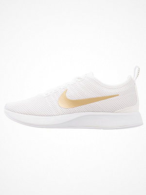 Nike Sportswear DUALTONE RACER SE Sneakers white/metallic gold/vast grey