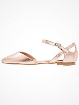 Anna Field Ballerinas med remmar copper