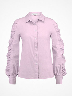 Lost Ink ROUCHED SLEEVE Skjorta purple