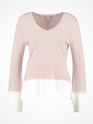 Anna Field Stickad tröja rose/offwhite