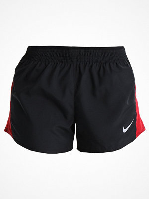 Nike Performance DRY SHORT  Träningsshorts black/gym red/speed red/wolf grey