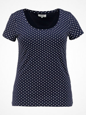 Zalando Essentials Curvy Tshirt med tryck dark blue