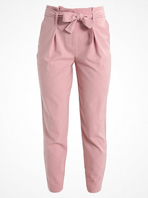 Only ONLNICOLE PANTS Tygbyxor misty rose gammelrosa