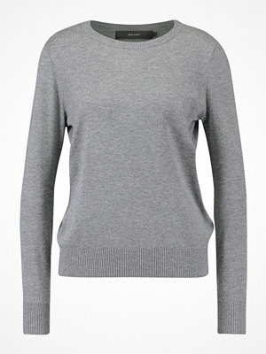 Vero Moda VMMILDA ONECK Stickad tröja medium grey melange