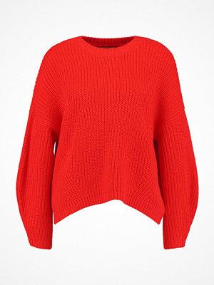 Only ONLMALIA  Stickad tröja flame scarlet