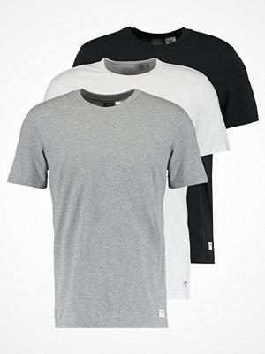 Adidas Originals 3 PACK Tshirt bas core heather/white/black