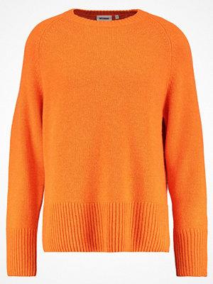 Weekday MURAL Stickad tröja orange