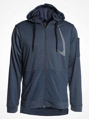 Street & luvtröjor - Nike Performance DRY  Sweatshirt thunder blue/white