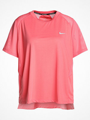 Nike Performance DRY MILER Tshirt bas sea coral/reflective silver