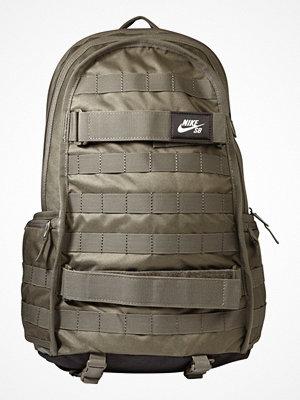Nike Sb SOLID Ryggsäck medium olive/black omönstrad