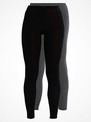Missguided 2 PACK Leggings black/charcoal