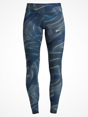 Nike Performance POWER ESSENTIAL Tights blue force/reflective silver