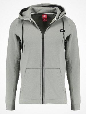 Street & luvtröjor - Nike Sportswear MODERN FULL ZIP HOODIE BRUSHED Sweatshirt dark stucco