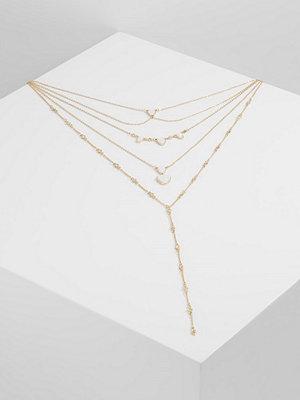 Topshop LAYER MEGA 3 PACK Halsband pink/goldcoloured