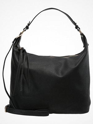 Dorothy Perkins DOUBLE ZIP HOBO Handväska black
