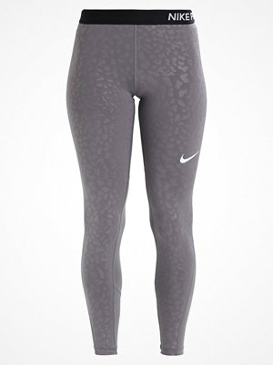 Nike Performance SPOTTED CAT Tights gunsmoke/white