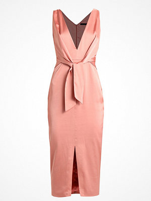 Lavish Alice KNOT FRONT MIDI DRESS Cocktailklänning rose