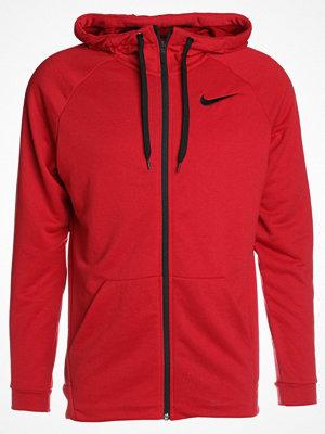 Street & luvtröjor - Nike Performance DRY FULL ZIP HOODIE Sweatshirt gym red/black