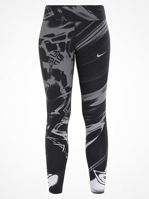 Nike Performance POWER EPIC LUX RUNNING Tights black/silver