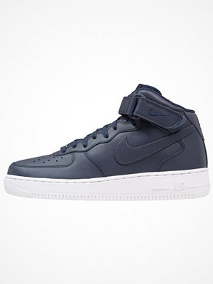 Nike Sportswear AIR FORCE 1 MID '07 Höga sneakers obsidian/white