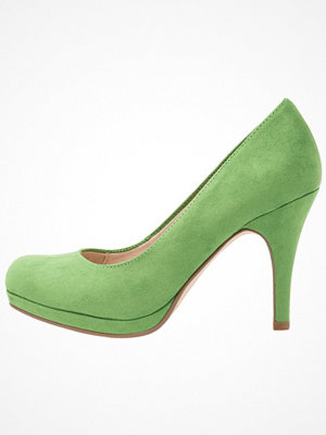 Tamaris Klassiska pumps green