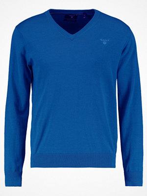 Gant WEIGHT VNECK Stickad tröja yale blue