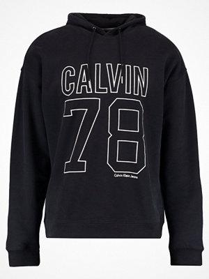 Calvin Klein Jeans OVERSIZED POPOVER Luvtröja black