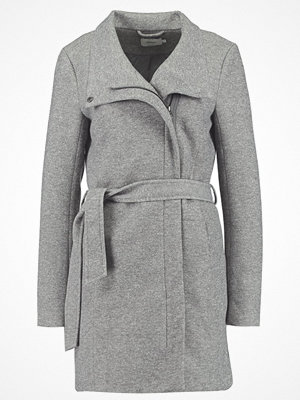 Only ELLI LIGHT COAT Kort kappa / rock light grey melange