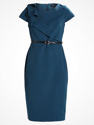 Dorothy Perkins CAP SLEEVE BELTED DRESS Fodralklänning teal