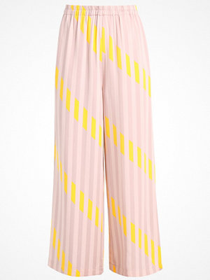 Selected Femme SFELLI WIDE PANT Tygbyxor sepia rose
