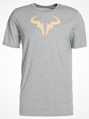Nike Performance RAFAEL NADAL TEE Tshirt med tryck dark grey heather/black/black