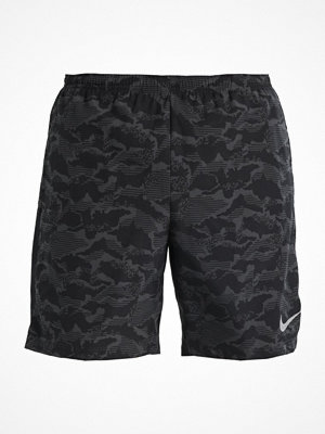 Nike Performance SHORT Träningsshorts anthracite/black/reflective silver