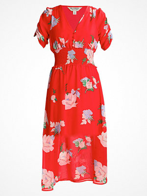 Miss Selfridge FLORAL DRESS Maxiklänning red