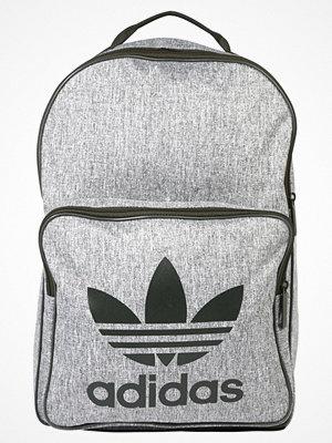 Adidas Originals CLASS CASUAL Ryggsäck night cargo/white ljusgrå med tryck
