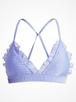Lost Ink RUFFLE TRIM  Bikiniöverdel light blue